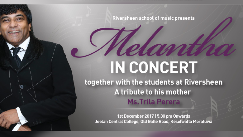 Melantha in Concert together with the students at Riversheen