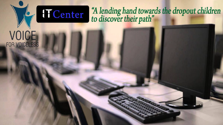 Voice Activity Center - A Lending hand towards the dropout school children to DISCOVER path